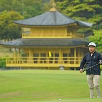 ゴルフの写真なのか、観光の写真なのか。 2021年 東建ホームメイトカップ 2日目 片山晋呉