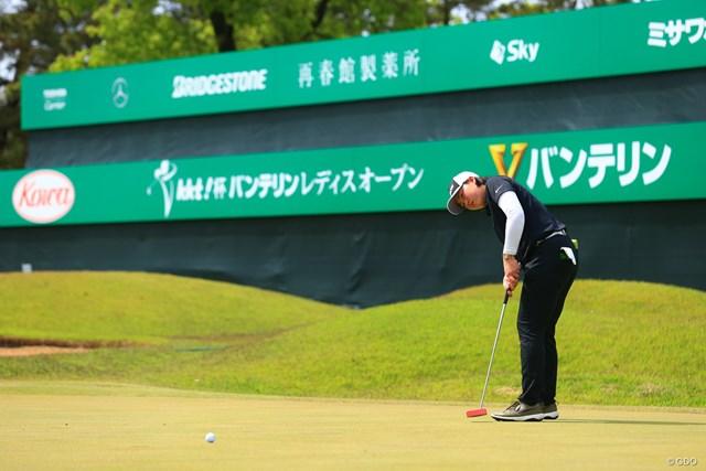2021年 KKT杯バンテリンレディスオープン  2日目 竹田麗央 「りお」と読みます。