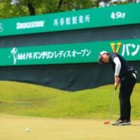 「りお」と読みます。 2021年 KKT杯バンテリンレディスオープン  2日目 竹田麗央