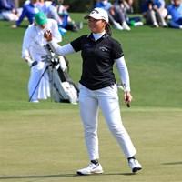 17歳がオーガスタで躍動した(提供:Augusta National Golf Club) 2021年 オーガスタナショナル女子アマ 最終日 梶谷翼