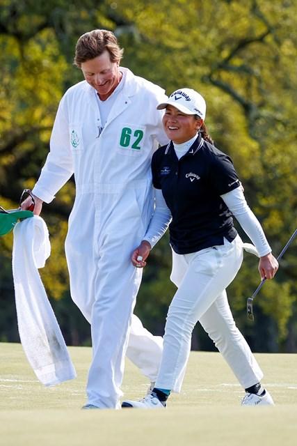 2021年 オーガスタナショナル女子アマ 梶谷翼 梶谷翼がオーガスタを制したのは松山英樹の1週間前(提供:Augusta National Golf Club)