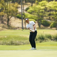 アプローチ練習は欠かさない 2021年 関西オープンゴルフ選手権競技 事前 宮本勝昌