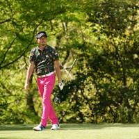 ピンクのパンツが良く似合ってる 2021年 関西オープンゴルフ選手権競技 事前 中里光之介