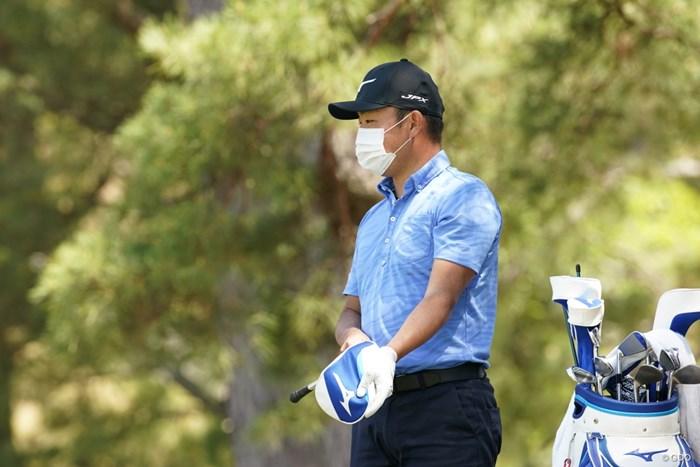 今日はマスクマン 2021年 関西オープンゴルフ選手権競技 事前 時松隆光