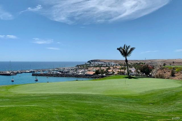 2021年 グラン・カナリアオープン 事前 メロネラスゴルフ 海辺の美しいコースがカナリアシリーズの初戦