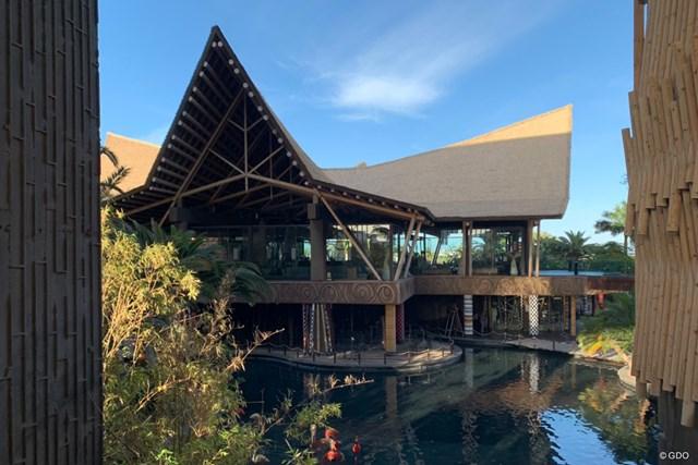 2021年 グラン・カナリアオープン 事前 グラン・カナリアのホテル グラン・カナリアのホテル。独特のデザインです