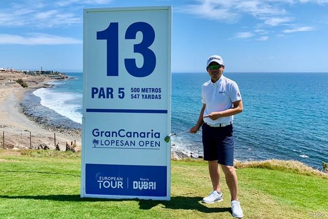 2021年 グラン・カナリアオープン 事前 川村昌弘 海に浮かぶスペイン領の島が今週の会場です!