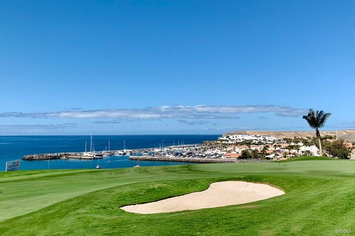 会場のメロネラスゴルフ。コロナなんてウソみたい 2021年 グラン・カナリアオープン 事前 メロネラスゴルフ