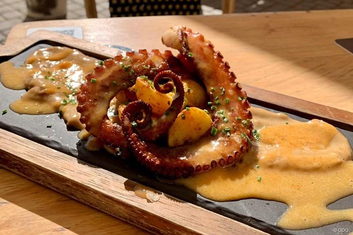 何を食べてもおいしいスペイン料理!タコもうまい・・・ 2021年 グラン・カナリアオープン 事前 グラン・カナリア島の食事