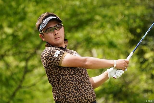 2021年 関西オープンゴルフ選手権競技 初日 池村寛世 池村寛世が首位タイで発進