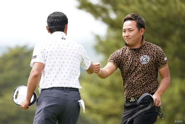 2021年 関西オープンゴルフ選手権競技 初日 池村寛世 初日を首位発進とした池村寛世