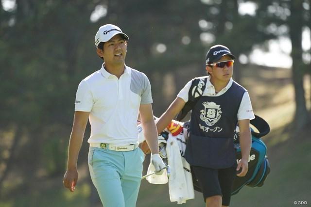 2021年 関西オープンゴルフ選手権競技 初日 石坂友宏 初優勝を目指す石坂友宏