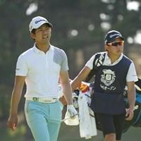 初優勝を目指す石坂友宏 2021年 関西オープンゴルフ選手権競技 初日 石坂友宏