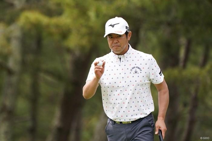 ナイスゲーム! 2021年 関西オープンゴルフ選手権競技 初日 武藤俊憲