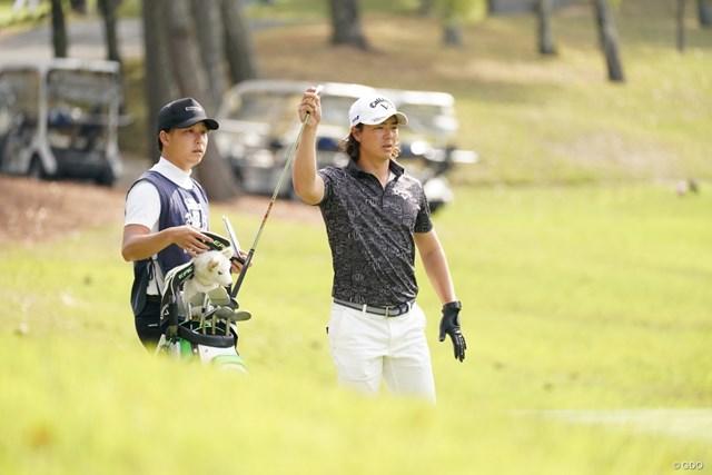 2021年 関西オープンゴルフ選手権競技 初日 石川遼 アイアン選択
