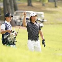 アイアン選択 2021年 関西オープンゴルフ選手権競技 初日 石川遼