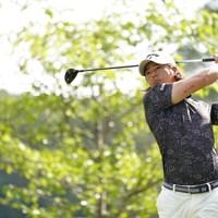 2番ティショットはドライバー 2021年 関西オープンゴルフ選手権競技 初日 石川遼