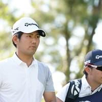 単独トップかななんて思ってたら… 2021年 関西オープンゴルフ選手権競技 初日 石坂友宏