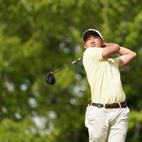 ティショットは文句なし 2021年 関西オープンゴルフ選手権競技 初日 金谷拓実