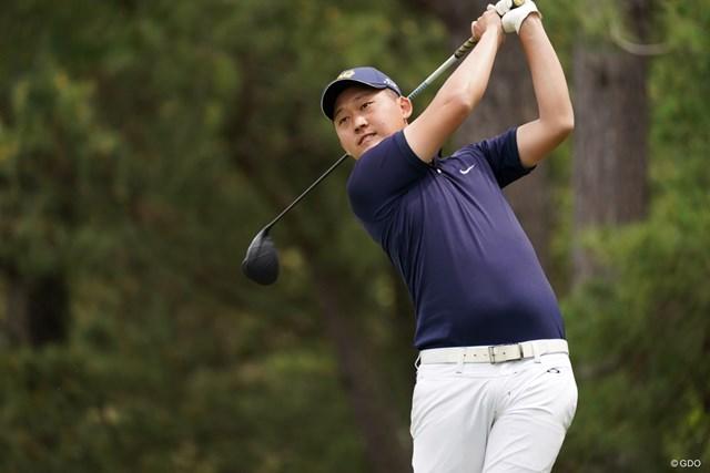 2021年 関西オープンゴルフ選手権競技 初日 宇喜多飛翔 5アンダーで2位タイ、アマです