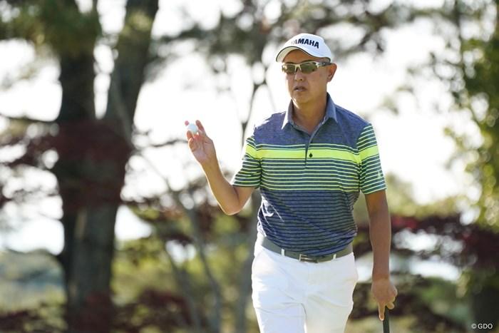53歳の谷口徹。まだまだ勝負は諦めていない 2021年 関西オープンゴルフ選手権競技 初日 谷口徹
