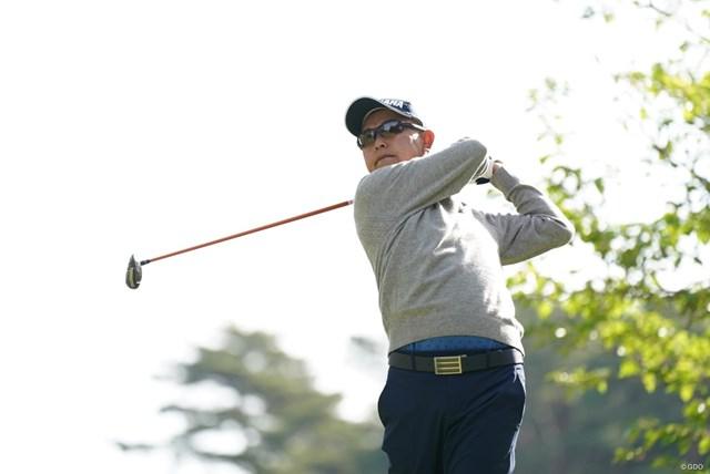 2021年 関西オープンゴルフ選手権競技 2日目 谷口徹 元気なベテラン谷口徹が好位置で週末へ
