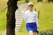 2021年 九州みらい建設グループレディースゴルフトーナメント 2日目 川満陽香理
