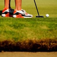 靴の進化 2021年 フジサンケイレディスクラシック 初日 ゴルフシューズ