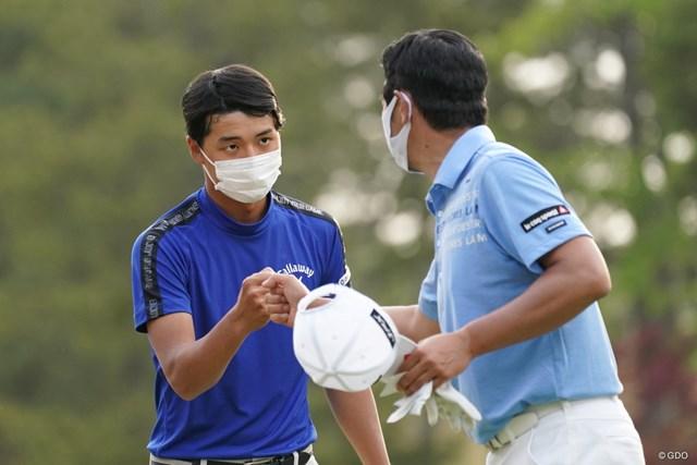 2021年 関西オープンゴルフ選手権競技 2日目 石川航 レギュラーツアーで初の予選通過を果たした石川航
