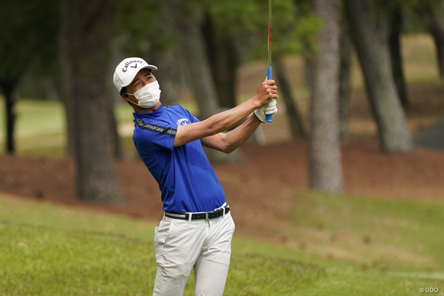 2021年 関西オープンゴルフ選手権競技 2日目 石川航 身長173cmで体重は65kg。あと10kg増やしたいという