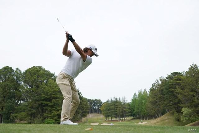 2021年 関西オープンゴルフ選手権競技 2日目 石川遼 バックショットもかっこいい