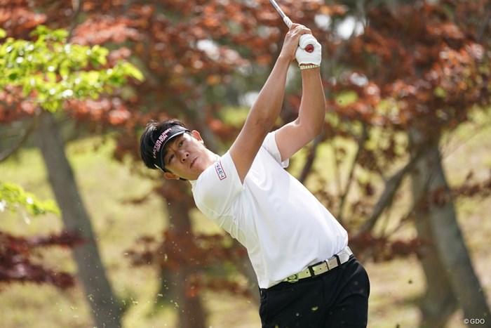 9アンダー期待がかかるね 2021年 関西オープンゴルフ選手権競技 2日目 上井邦裕