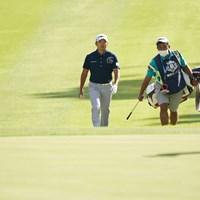 今日は伸ばすかな 2021年 関西オープンゴルフ選手権競技 2日目 今平周吾