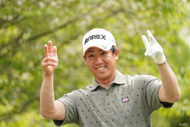 2021年 関西オープンゴルフ選手権競技 2日目 北川祐生 お茶目といっていいんだろか、いいよ~