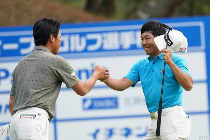 9アンダー3位タイで決勝ラウンド 2021年 関西オープンゴルフ選手権競技 2日目 福永安伸