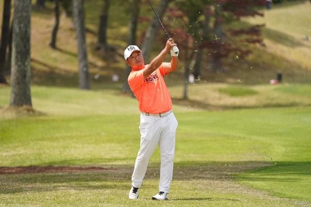 2021年 関西オープンゴルフ選手権競技 3日目 小田孔明 火曜日は発熱にヒヤリ。3日目を終えて、優勝争いに絡んできた小田孔明