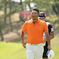 首位タイに浮上したチャン・キム 2021年 関西オープンゴルフ選手権競技  3日目 チャン・キム