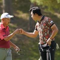 勝ち対決みたい 2021年 関西オープンゴルフ選手権競技 3日目 谷口徹 上井邦裕