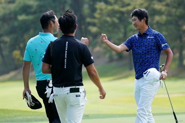 2021年 関西オープンゴルフ選手権競技 4日目 星野陸也 終盤はチャン・キムとのデッドヒート