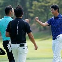 終盤はチャン・キムとのデッドヒート 2021年 関西オープンゴルフ選手権競技 4日目 星野陸也