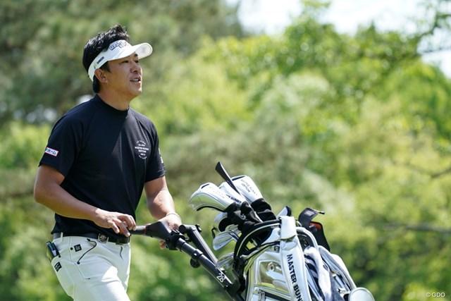 2021年 関西オープンゴルフ選手権競技 最終日 上井邦裕 突然のセルフお疲れ様~