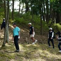 非常に酷なボールはロスト 2021年 関西オープンゴルフ選手権競技 最終日 チャン・キム