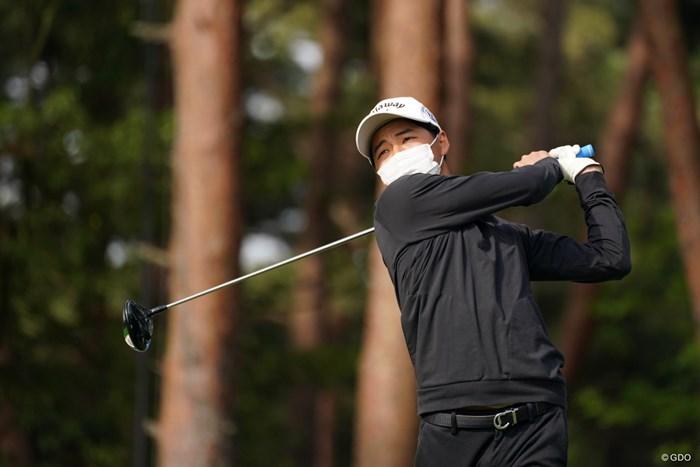 休むことなく明日も試合の石川航 2021年 関西オープンゴルフ選手権競技  最終日 石川航