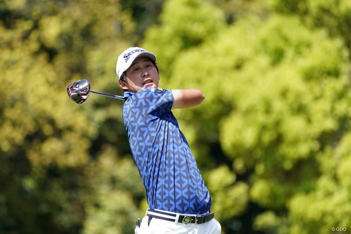 4年連続となるツアー4勝目をマークした星野陸也 2021年 関西オープンゴルフ選手権競技 最終日 星野陸也