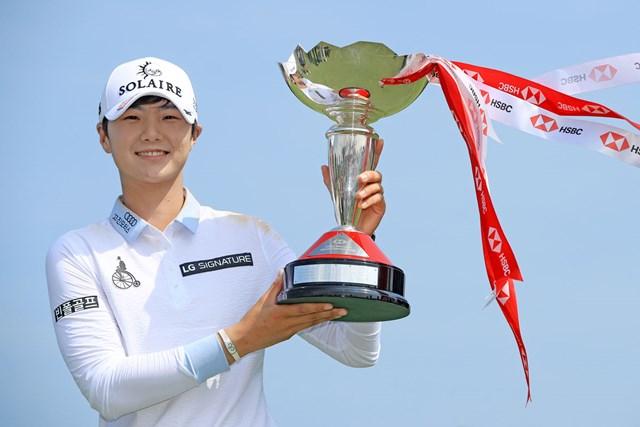 2021年 パク・ソンヒョン 大会連覇を目指す韓国のパク・ソンヒョン(写真は2019年HSBC女子チャンピオンズ)