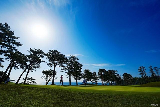2021年 フジサンケイレディスクラシック 最終日 フォトグラファーにとってもドラマチックなゴルフコースだ
