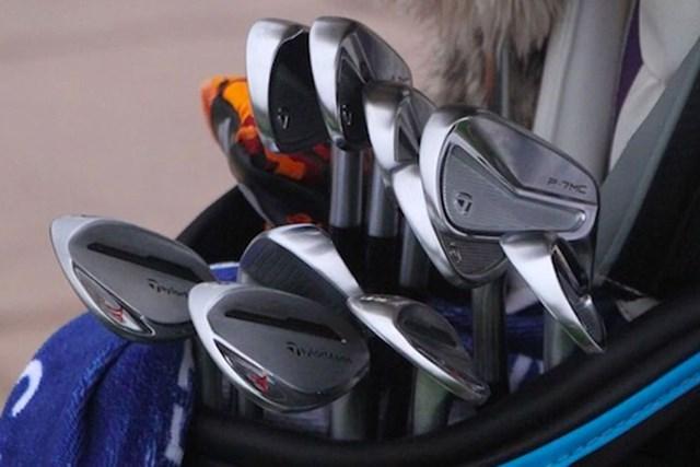2021年 チューリッヒクラシック・オブ・ニューオーリンズ 最終日 マシュー・ウルフ マシュー・ウルフのバッグ(提供:GolfWRX)