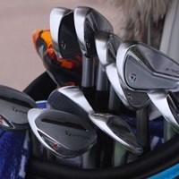 マシュー・ウルフのバッグ(提供:GolfWRX) 2021年 チューリッヒクラシック・オブ・ニューオーリンズ 最終日 マシュー・ウルフ