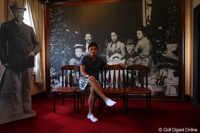 長崎グラバーさん一家とゴルフカメラマン内田眞樹ちゃん。