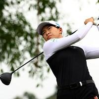 渋野日向子は「73」と調子はあがらず(Yong Teck Lim/Getty Images) 2021年 HSBC女子チャンピオンズ 2日目 渋野日向子